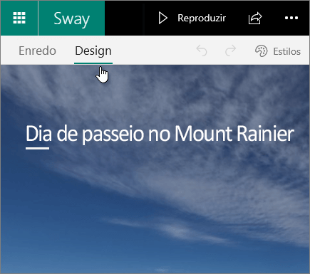 Guia Design do Sway