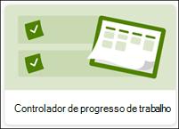 Controlador de lista de progresso do trabalho
