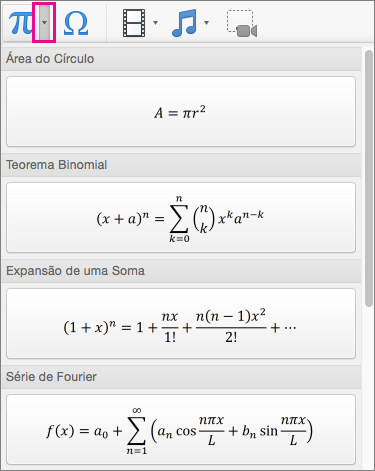Equações internas