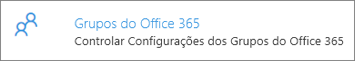 Grupos do Office 365