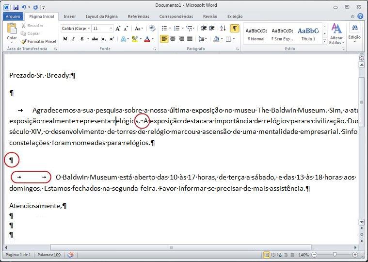 Documento do Word 2010