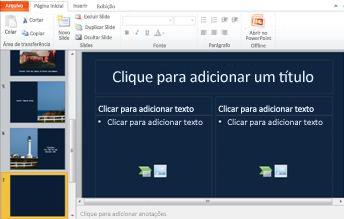 Novo slide