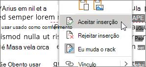 Clique com o botão direito do mouse em alterar