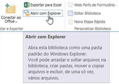 SharePoint 2016 abrir com o Explorer no IE11