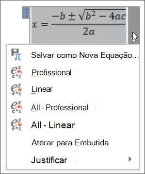 Equação de tudo linear