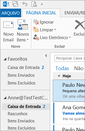 Tema do Office cinza claro