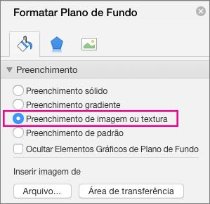Formatar Tela de Fundo do PowerPoint para Mac
