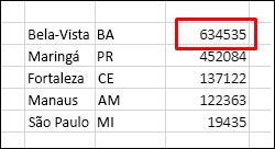 Classificar dados sem uma linha de cabeçalho