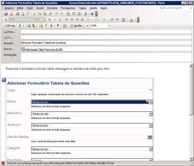 Tela Entrar para o Office 365