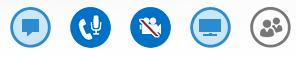 Captura de tela do ícone de câmera pausada