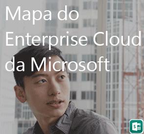 Mapa de nuvem do Enterprise
