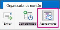 Botão Agendamento do Mac 2016