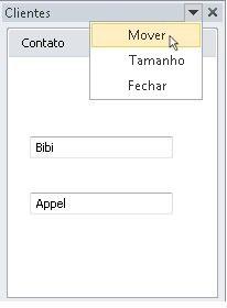 Painel de tarefas de clientes no Outlook 2010