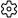 Ícone de engrenagem de configurações