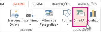 Clique em Modo de Exibição e, em seguida, em Classificação de Slides