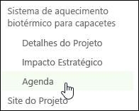 Iniciação Rápida do Centro de Projetos