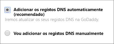 Adicionar registos automaticamente