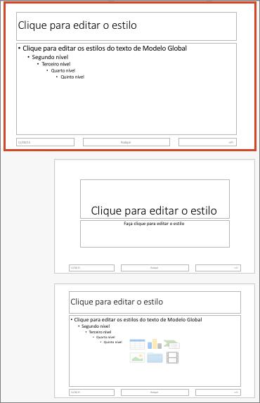 Efeitos de animação personalizados do SmartArt: lista de caixas vertical