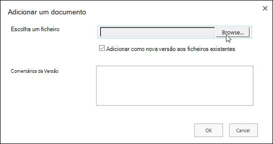 Escolher um logótipo no explorador do Windows