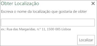 Localizar a caixa de diálogo Localizar