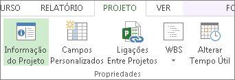 Imagem do botão de Informação do Projeto