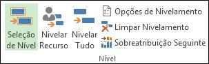 Comando Nivelar recursos