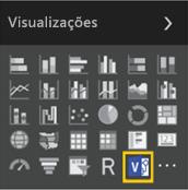 O ícone de novo visual personalizado