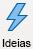 ícone com relâmpago