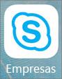 Ícone da aplicação Skype para Empresas para iOS