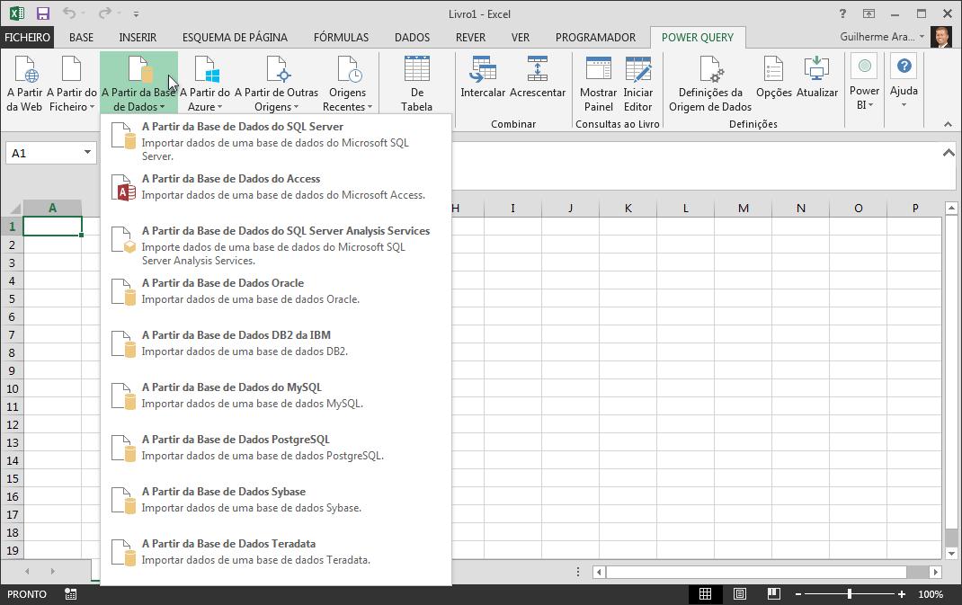 Exemplo de um controlo de caixa de combinação de formulário