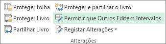 permitir que utilizadores editem intervalos