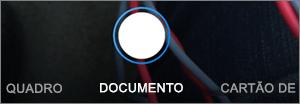 Opções de digitalização no OneDrive para iOS