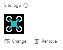Alterar o logótipo do seu site do SharePoint