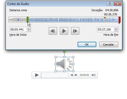 Cortar áudio
