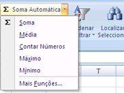 utilizar contar números do comando soma automática