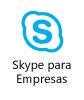 Ajuda de acessibilidade no Skype para Empresas