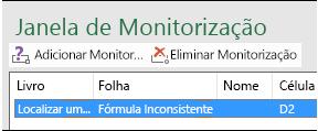 Eliminar Monitorização