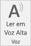 Ícone Ler em Voz Alta
