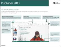 Guia de Introdução do Publisher 2013