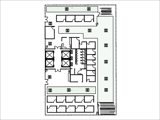 Transferir modelo de planta dos pisos