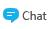 Botão Chat