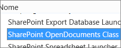 Ativar o controlo ActiveX do SharePoint OpenDocuments Class