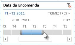 Identificadores de seleção de TimeSpan