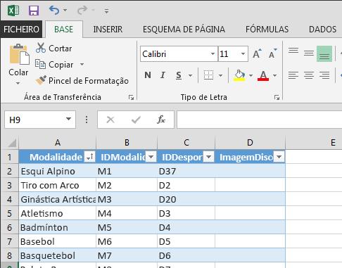 Expandir uma tabela no Excel