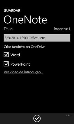 Enviar imagens para o Word e o PowerPoint no OneDrive