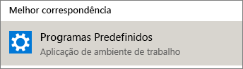 Programas predefinidos no Windows