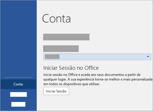 Hotmail iniciar sessão