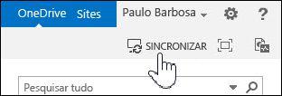 Sincronizar o OneDrive para Empresas no SharePoint 2013