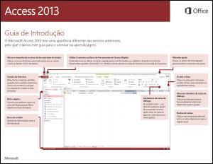 Guia de Introdução ao Access 2013