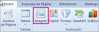 Inserir Imagem no Office 2010